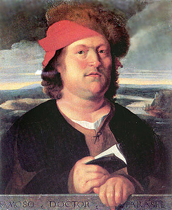 Young Paracelsus looking a little chubby.